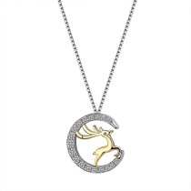 silver necklace MLA1663