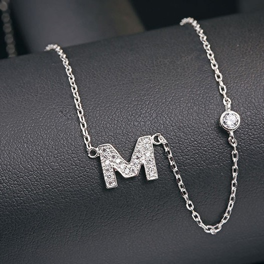 M word necklace MLA622M