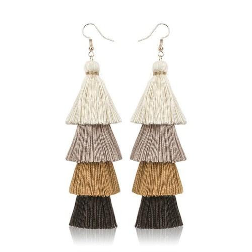 Long tassel earrings ME68123-2