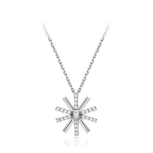 silver necklace MLA607