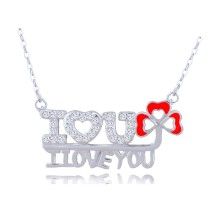 silver necklace H40121