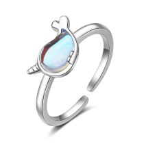Classic CZ Ring Fashion Silver Plated JZ291