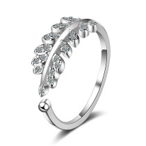 Classic CZ Ring Fashion Silver Plated JZ292
