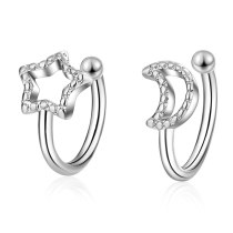 Women's pierced ear clips  EH474