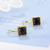 Square earrings XZE385c