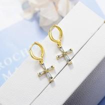Cross earrings XZE420c