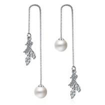 sweet long pearl earring 240