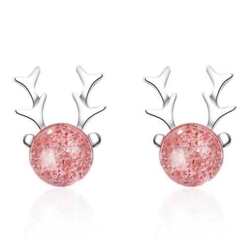 Antler earrings 593