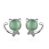 cat earring 516
