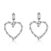 heart earrings XZE585