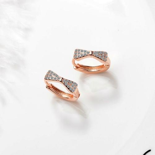 Bow earrings XZE402c