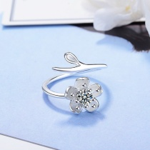 Flower ring XZR167b