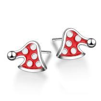 Christmas hat earrings 636