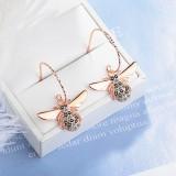 Bee earrings XZE414b