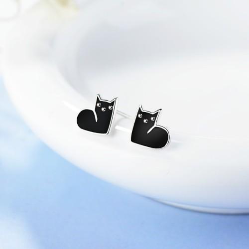 cat earring XZE666a