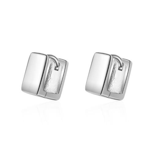 Square earrings XZE382b