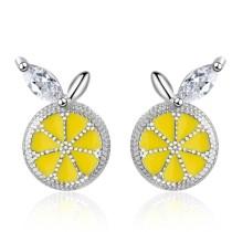 Lemon earrings 747