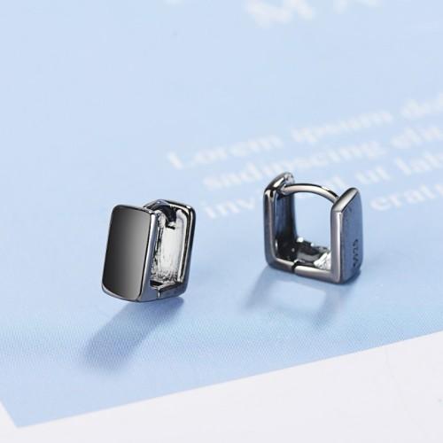 Square earrings XZE382c