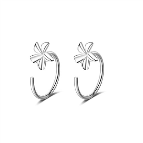 Five-petal flower earring XZE346