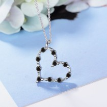 heart necklace XZA351b