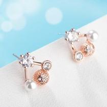 Cherry pearl earrings XZE437a