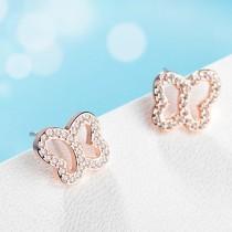 butterfly gold earring 436