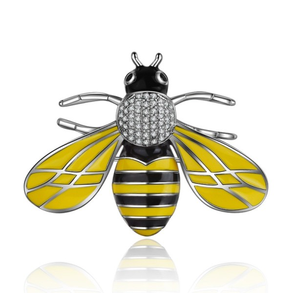 Small bee brooch XZB010h