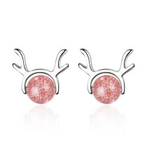 Cute elk earrings XZE606