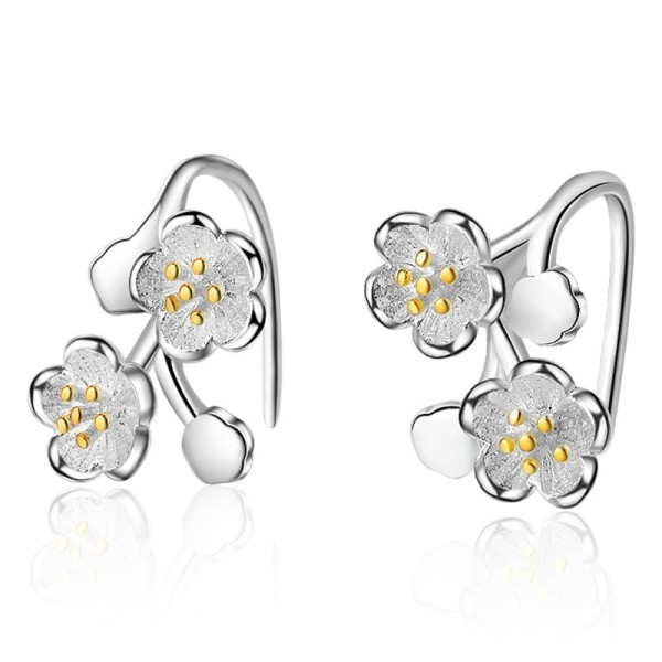 flower earring 413