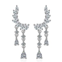 flower earring XZE476