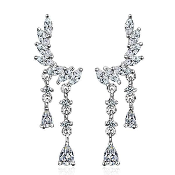 flower earring XZE476