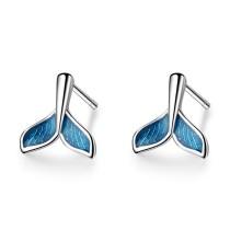 Mermaid tail earrings 692