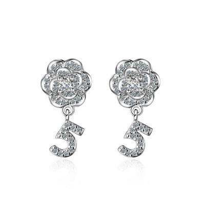 flower earring XZEa386