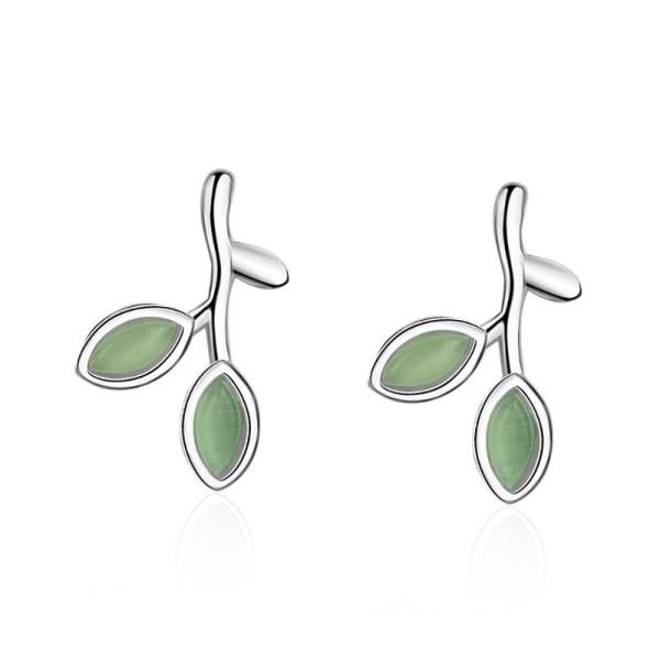 leaf earring 598