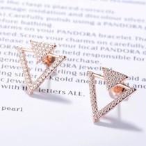 Triangle studs earrings XZE439a