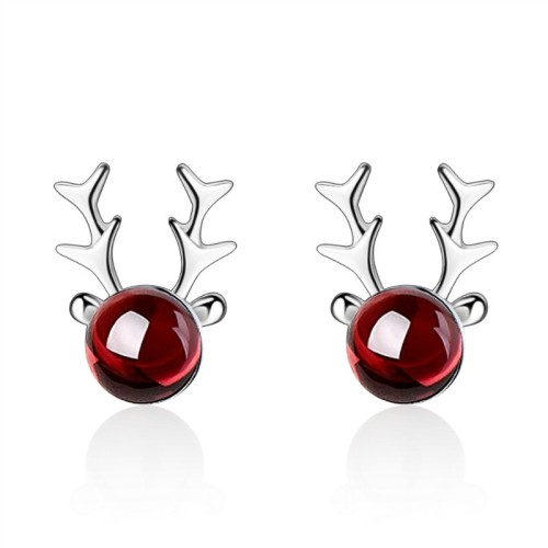 Elk earrings 672
