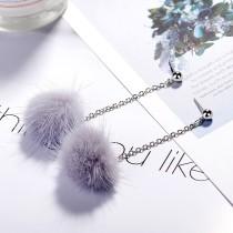 Plush earrings XZEq007g