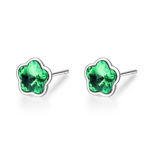 Five-petal flower earrings XZE603c
