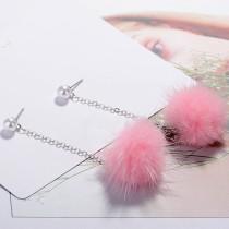 Plush Pearl Earrings XZE008a