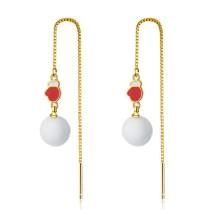 Christmas glove earrings 629