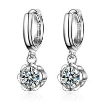 Flower short earrings 428