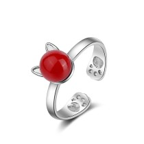 cat ear ring XZR199