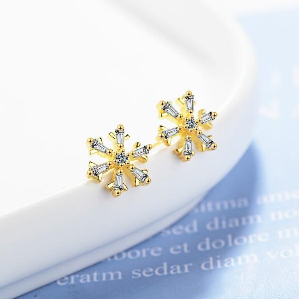 Snowflake earrings XZE727a
