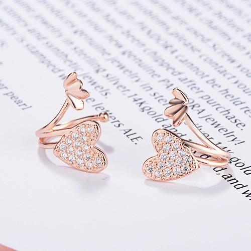 heart Ear clip XZE211ww