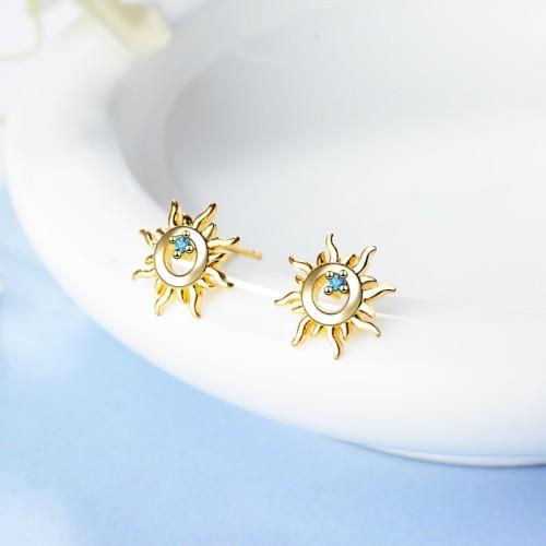 Sun flower earrings XZE665a