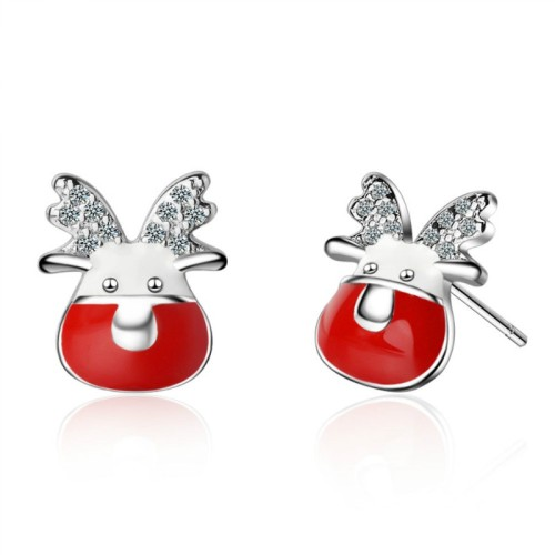 Elk Snowflake Earrings 771