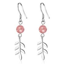 Long leaf earrings 423