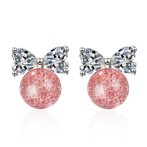 Bow earrings 592