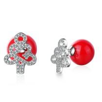 Christmas tree  earrings 626