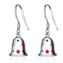 Christmas bell earrings 630